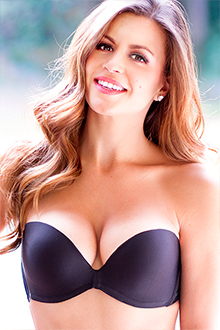 UpBra amazing lift up bra Stays Up Strapless Black