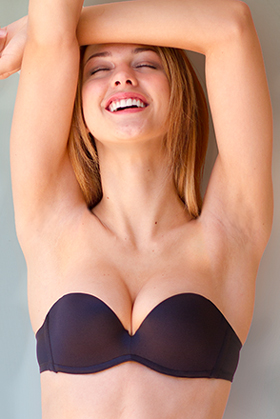 Upbra Best Stay-Up Strapless Bra